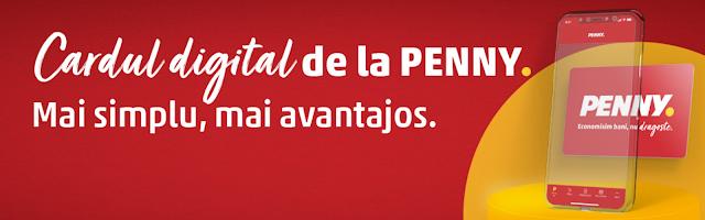 cardul digital de la penny