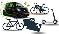 Logo Concorso ''ECO Move'': vinci biciclette, monopattini, carte regalo Trenitalia e auto Smart Fortwo