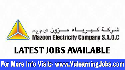Mazoon Electricity Company Jobs September 2019 For Latest Jobs In Oman
