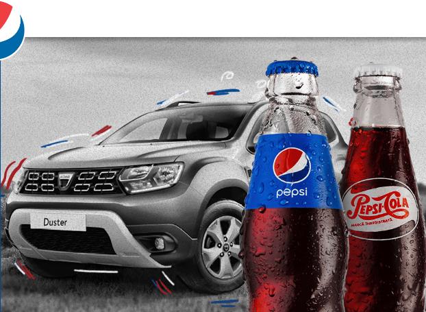 Concurs Pepsi - Auchan - Castiga o masina Dacia Duster - promotie - castiga.net