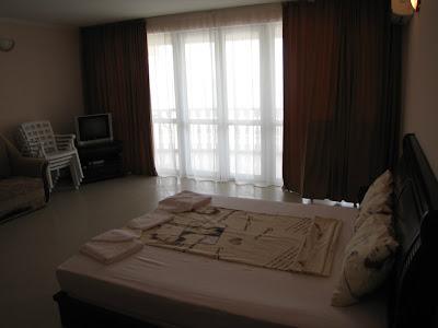 1-комнатные апартаменты отельного комплекса в Семидворье (вариант 4)