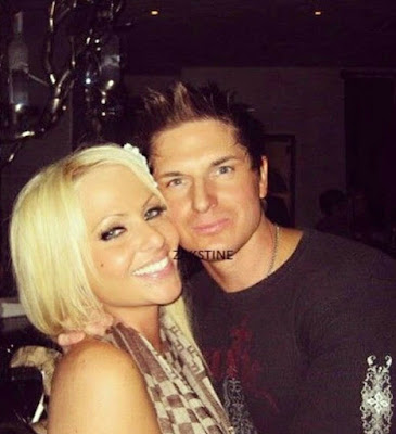 Zak Bagans with his late girlfriend Christine