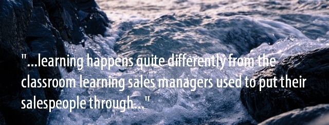 Practice part in sales training