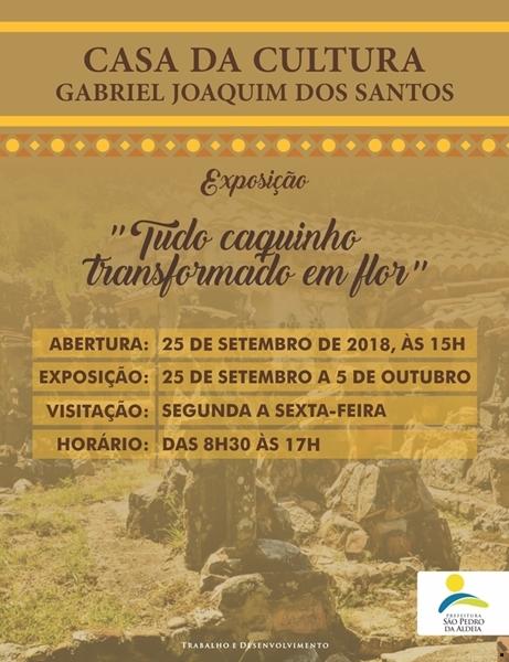 Exposição em homenagem à Casa da Flor e ao seu construtor estará na Casa de Cultura a partir de 25/09