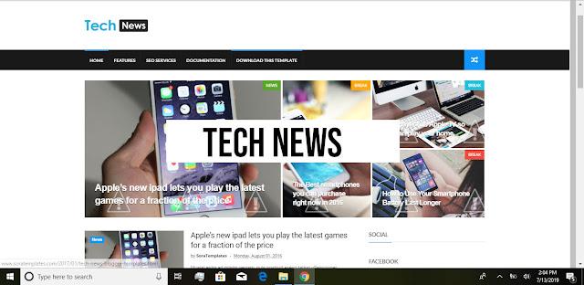 Tech-News-Demo