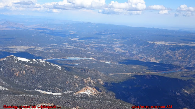 Clear View from Pikes Peak