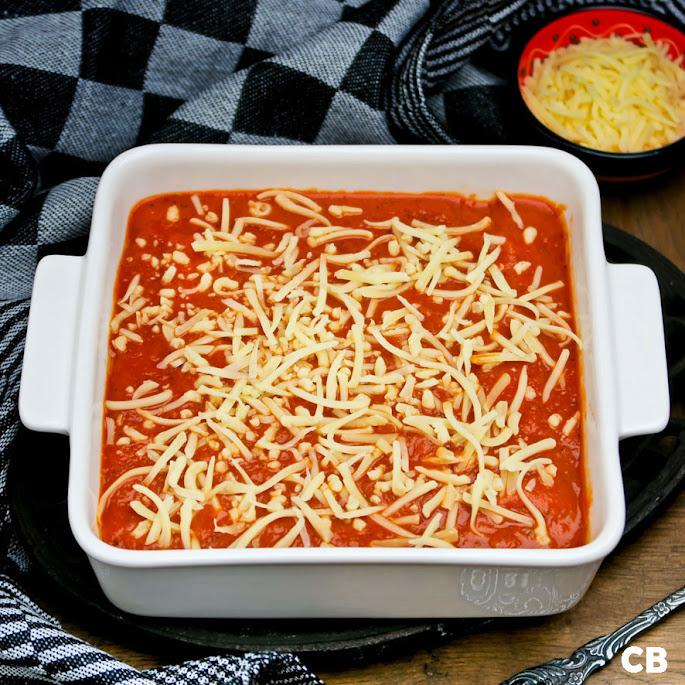 Je cannelloni mag de oven in!