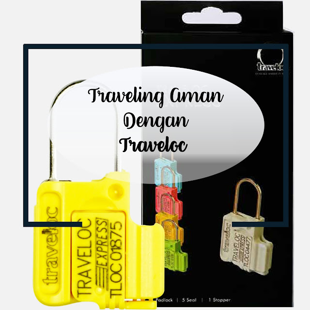 Traveling Aman Dengan Traveloc Personal Security Seal