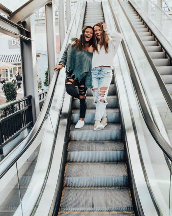 Fotos tumblr en escaleras casuales que estan de moda