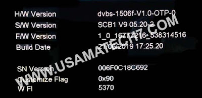 1506F NEW SOFTWARE - 1506F SCB1 RECEIVER POWERVU SOFTWARE UPDATE