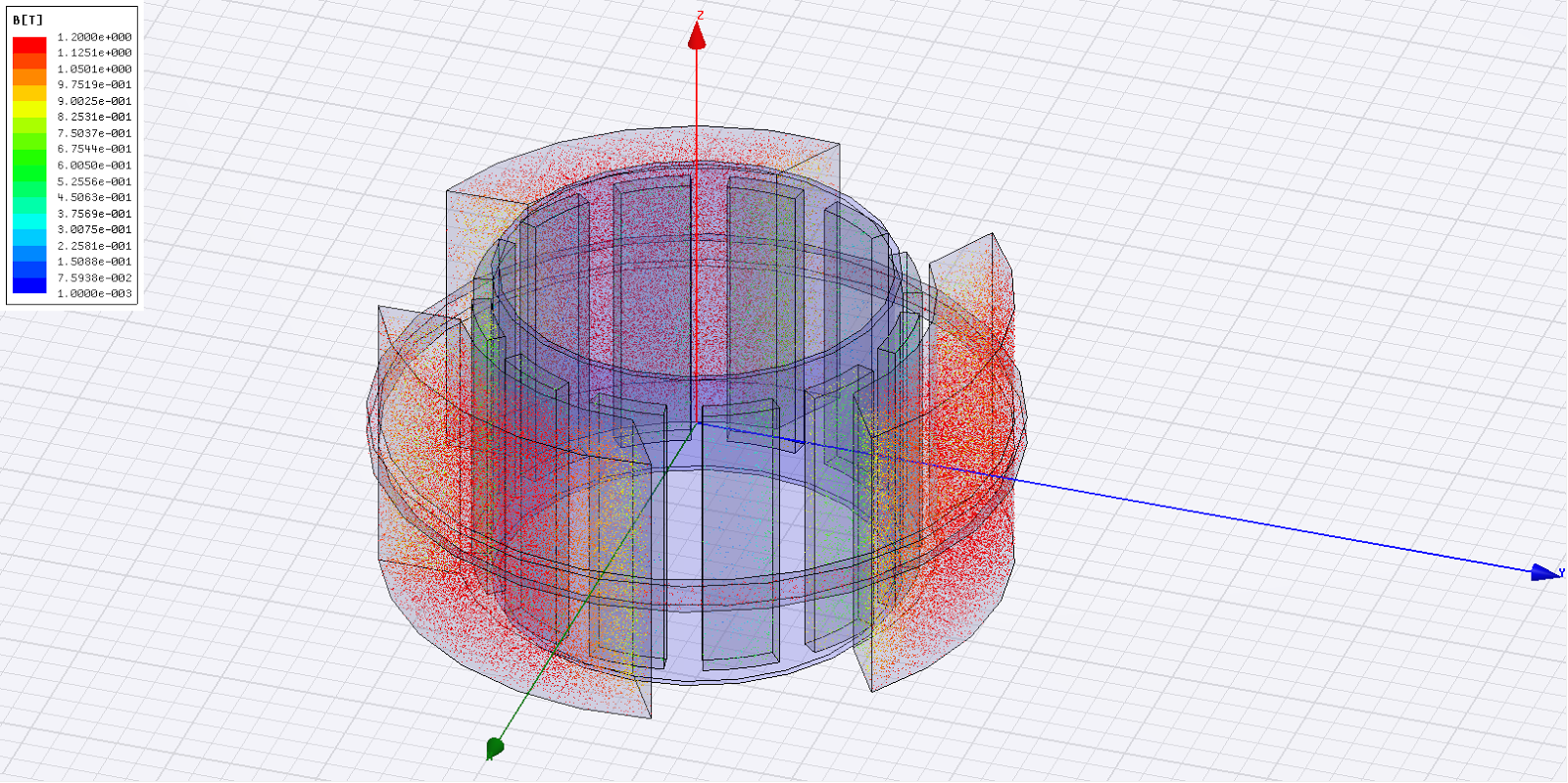 f32081d7fd2 Ultimately I added a small ring around the three outer magnets as shown in  this example. For whatever reason