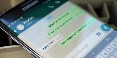 Begini Cara Ganti Huruf di WhatsApp Jadi Tebal dan Miring