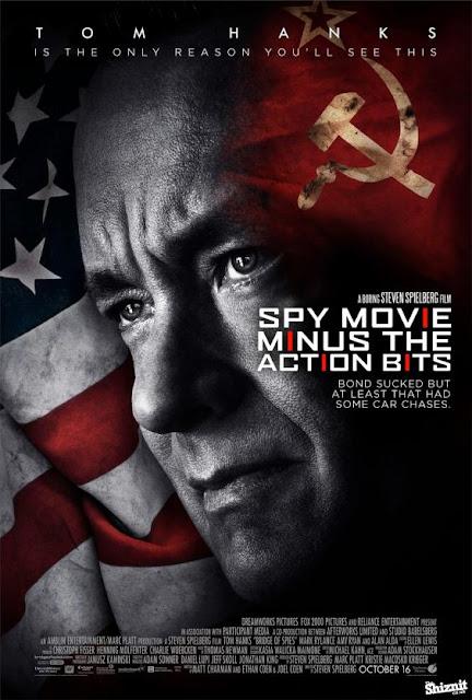 poster honesto de el puente de los espías