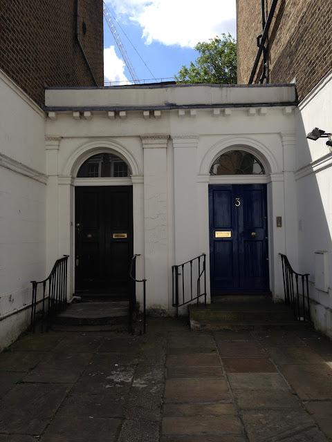 Doorways, Islington, London N1