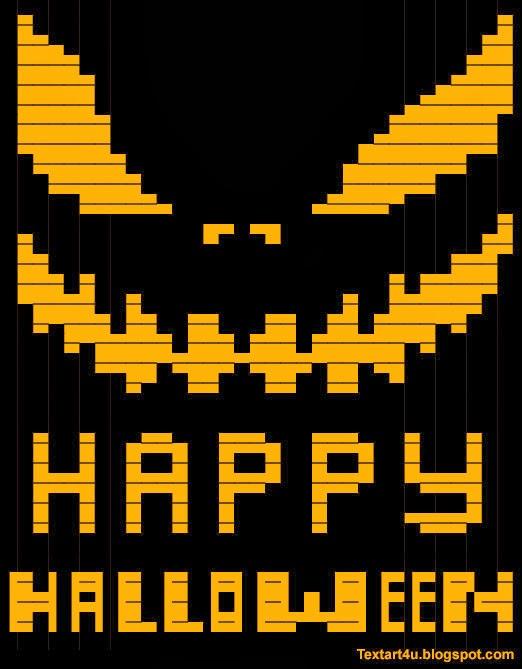 Halloween Emoji Text