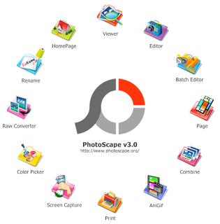 فوتو سكيب 2020  تحميل برنامج تركيب الصور للكمبيوتر photoscape