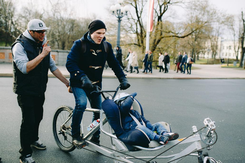 divvietīgs velosipēds