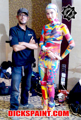 Body Painting MAC Jakarta