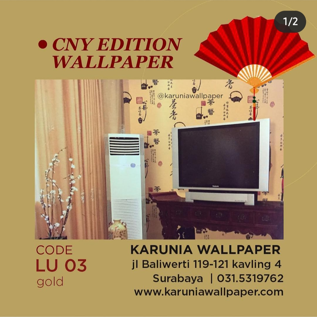 jual wallpaper hiasan dinding ala oriental