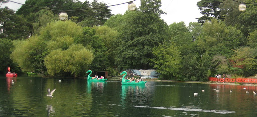 Dragon Pedaloes, Peasholm Park
