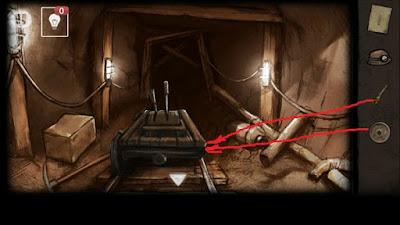 производим ремонт тележки в игре выход из заброшенной шахты