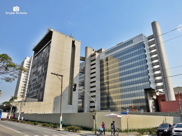 Vista ampla da Sede da Porto Seguro - Campos Elíseos - São Paulo