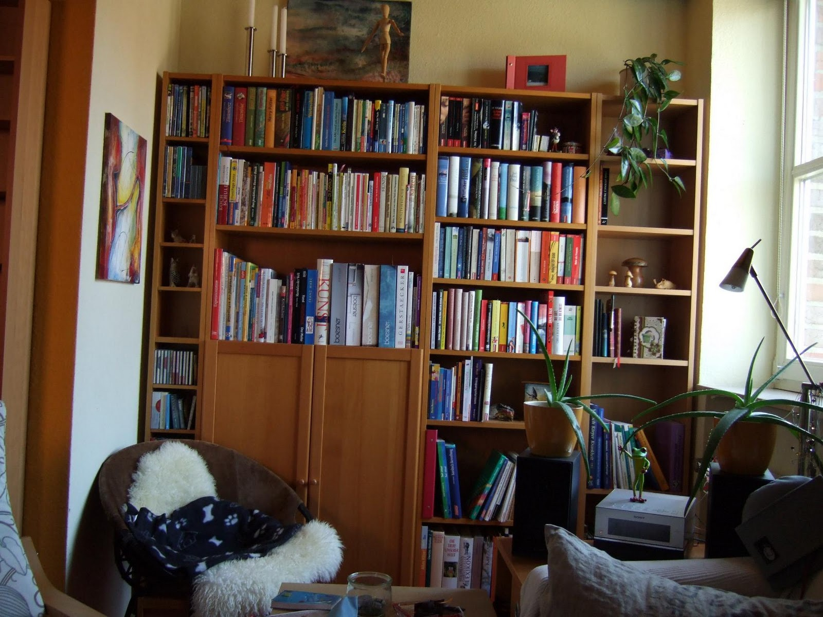 kreativlounge mein lesereich. Black Bedroom Furniture Sets. Home Design Ideas