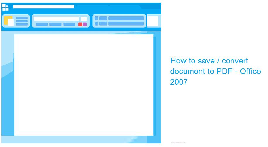 Mengubah PDF ke Word Office 2007