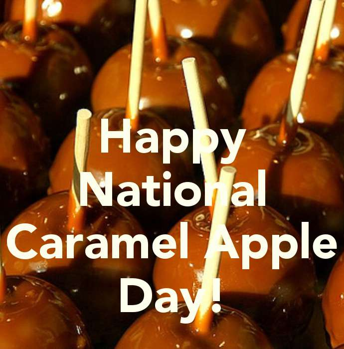 National Caramel Apple Day Wishes Images