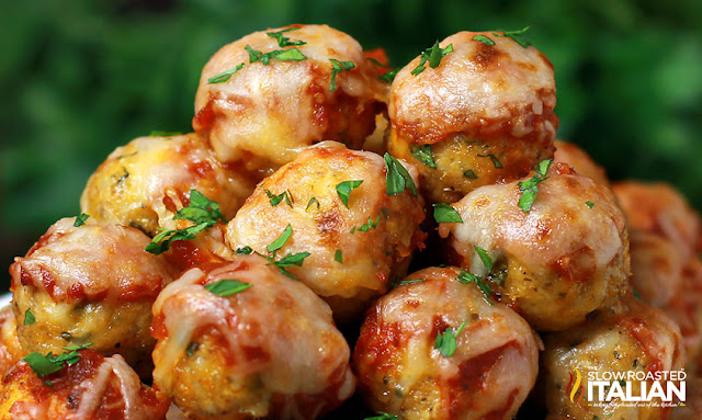 http://www.parade.com/220460/donnaelick/30-minute-chicken-parmesan-meatball-poppers/