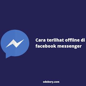 Cara Terlihat Offline di Facebook Messenger 2021