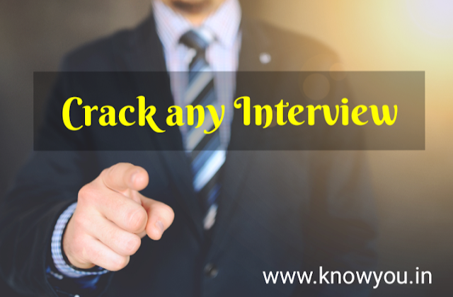 Basic Steps to Crack Any Interview, Top best Tips to Crack Interview, Tips to Crack Interview 2020.
