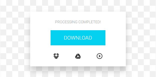 penggabungan video sukses, file siap diunduh atau diputar