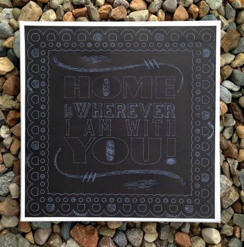 Home Decor Chalkboard: Samantha Walker's Imaginary World: Creating A Chalkboard
