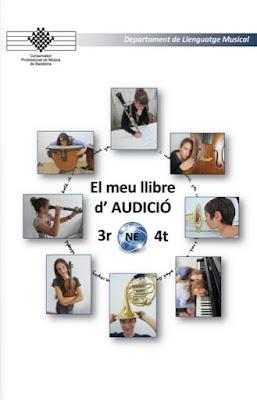 Portada llibre audició 3r i 4t NE