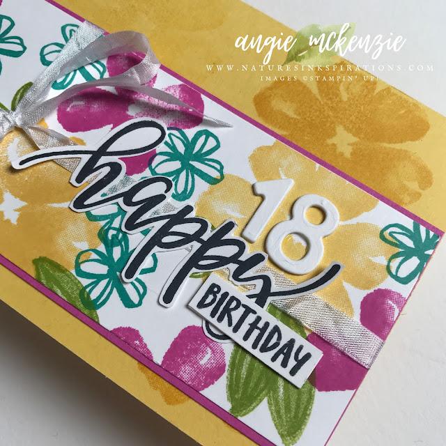 #birthdaycards #stampinginkspirationsbloghop #naturesinkspirations #prettyperennialsstampset #happythoughtsstampset #truelovedesignerseriespaper #slimlinecards #coloringdspwithblends #prettyenvelopes  #fussycutting #cardtechniques