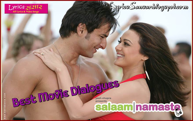 Salaam Namaste Movie Dialogues & Quotes | Saif Ali Khan, Preity Zinta & Javed Jaffrey