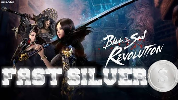 Spots for Fastest Way to FARM Silver Blade and Soul Revolution