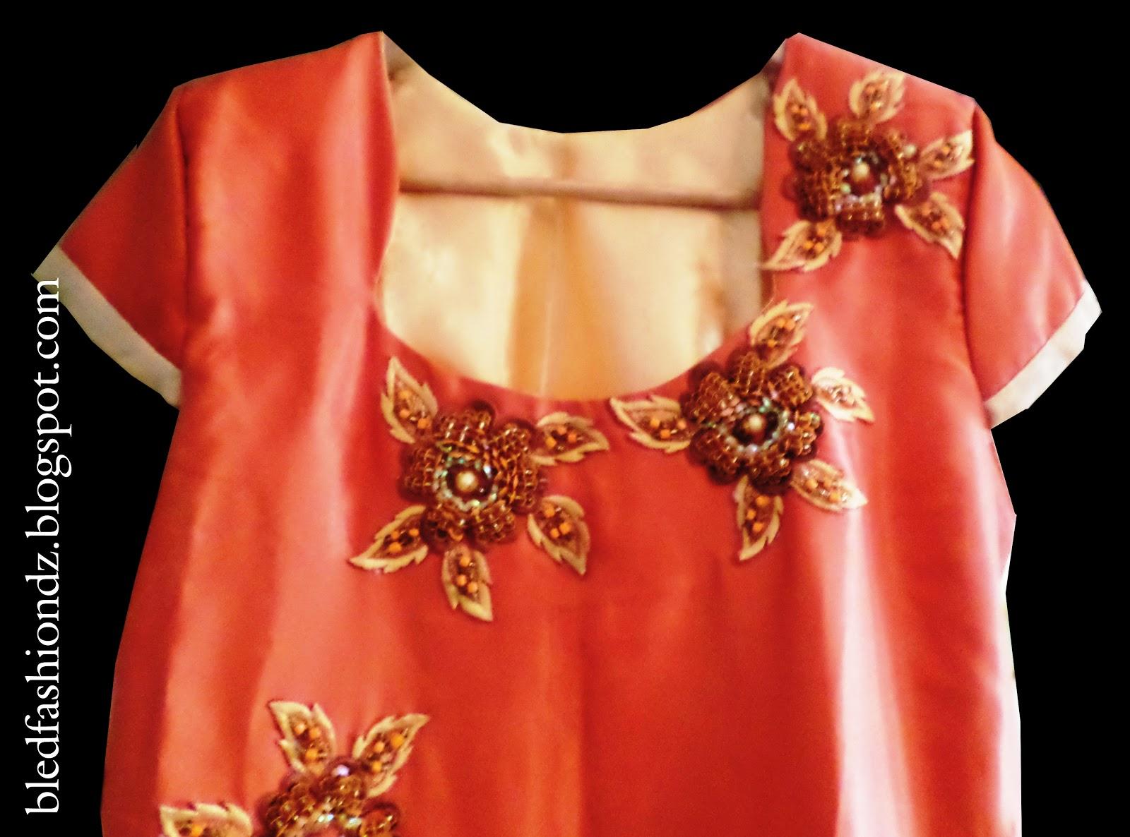 La Mode Algerienne Robe Interieur Rose