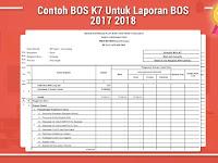 Contoh BOS K7 Untuk Laporan BOS 2017 2018