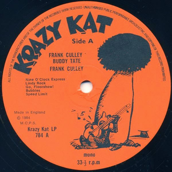 Be Bop Wino: Frank Culley And Buddy Tate - Rock'n Roll