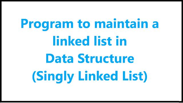 singly linked list in java - Algomentor