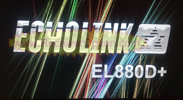 ECHOLINK 880D+ HD RECEIVER TEN SPORTS POWERVU KEY NEW SOFTWARE
