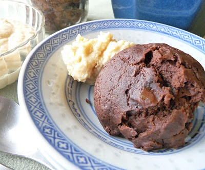 Steamed Chocolate Date Pudding
