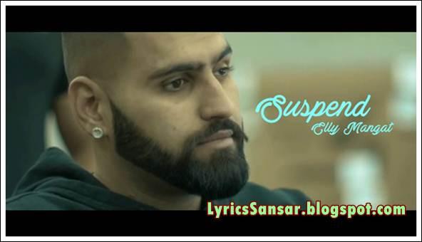 Elly Mangat : Suspend Lyrics