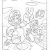Mario Bros para Colorir