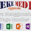 Cara Menggunakan Page Number Otomatis Pada Halaman