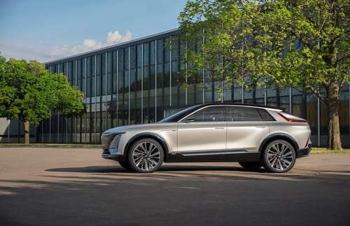 Cadillac launches an electric SUV