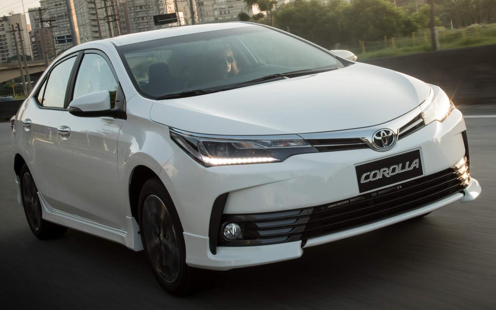 All New Corolla Altis 2019 Grand Avanza Basic Xrs 2018 Design Esportivo Para Atrair Os Jovens