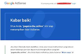 Tips Cara Lolos Review Google Adsense